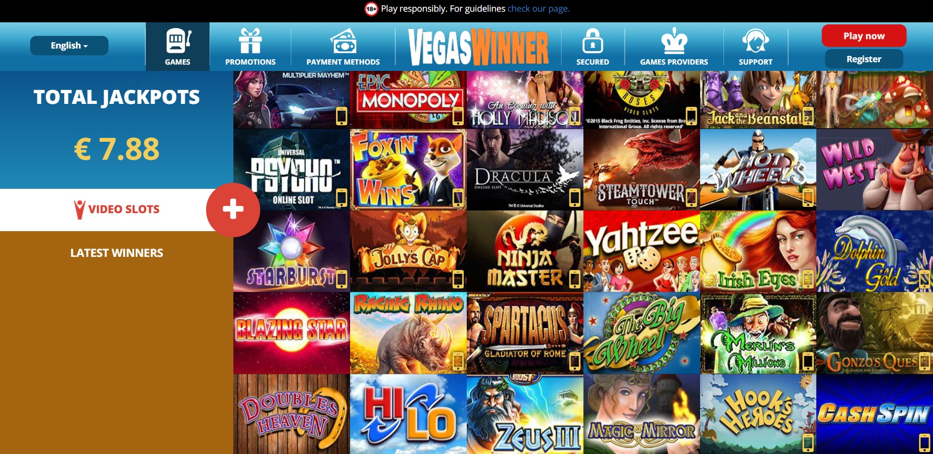 Jackpot party casino real money
